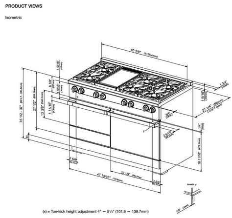 wolf dual fuel range miele hr1956dfgd 48 inch pro style dual fuel range with