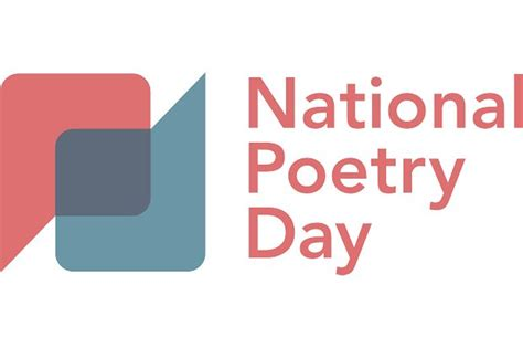 national poetry day printable calendar templates