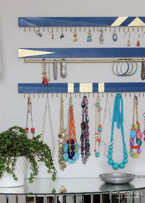 Diy Jewelry Organizer Ideas The Budget Decorator