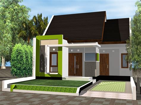 gambar rumah minimalis sederhana leter  desain rumah