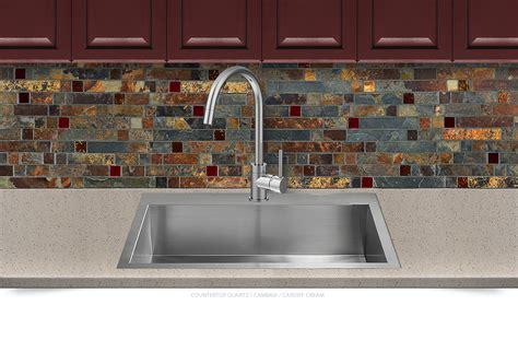 mosaic kitchen backsplash gold slate burgundy glass mosaic backsplash tile