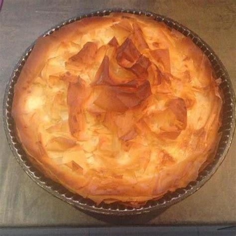 tourtiere aux pommes pate filo croustade aux pommes simplissime merci la p 226 te filo paperblog