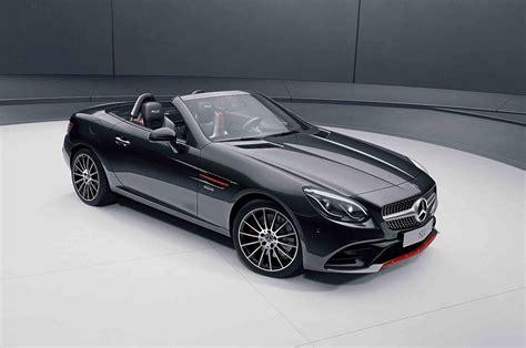 Mercedes-benz Slc Gains Redart Edition