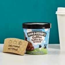 This meant tweaking the ice cream recipe. Coffee Toffee Bar Crunch Ice Cream   Ben & Jerry's