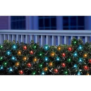 holiday time led net christmas lights multi 150 count walmart com