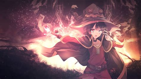 Moving Anime Wallpaper For Pc - animated wallpaper anime witch