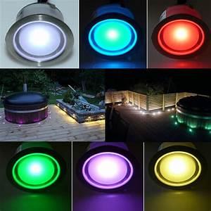 Color Changing LED Plinth and Deck Light,LED Plinth Light ...