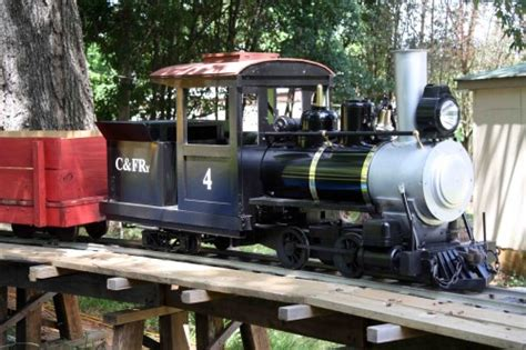 Ride On Backyard Trains by Ride Trains On Your 7 5 Quot Backyard Railroad Live