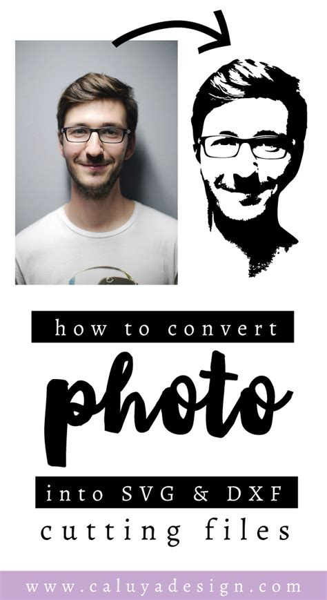 Convert vector images to raster format. How to Convert a Portrait Photo Into SVG & DXF Cuttable File
