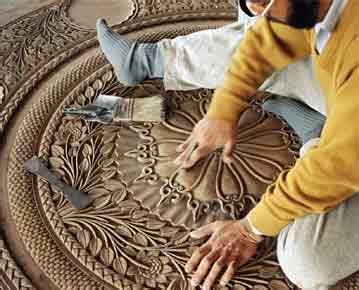 handmade  india mapin publishing