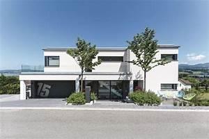 Stadtvilla Mit Garage : bauhaus stadtvilla mit garage moderne fertighaus villa ~ A.2002-acura-tl-radio.info Haus und Dekorationen