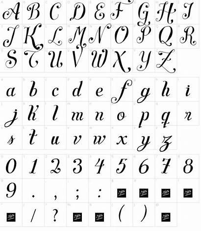 Font Script Symphony Fonts