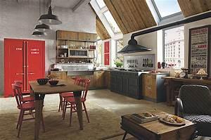 Küche Retro Stil : retro k che coole trendk chen edle landhausk chen ~ Watch28wear.com Haus und Dekorationen