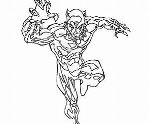 Dibujos para colorear: Pantera Negra imprimible, gratis ...
