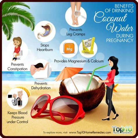 benefits  drinking coconut water  pregnancy top