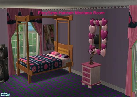 vikachues hannah montana miley cyrus pink bedroom