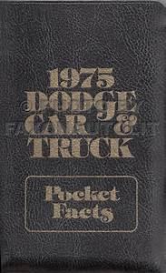 1975 Dodge Plymouth Van Repair Shop Manual Supp  Sportsman