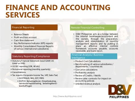 dv philippines finance  accounting outsourcing