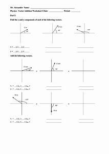 33 Vector Addition Worksheet With Answers
