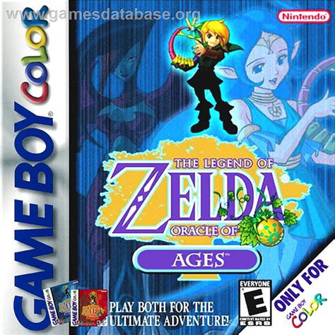 Legend Of Zelda Oracle Of Ages Nintendo Game Boy Color