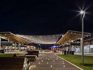 tensile designed catenary lighting system lights  henley