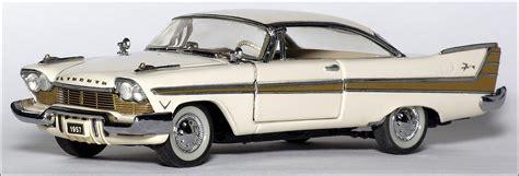 Franklin Mint: 1957 Plymouth Fury - Beige (UW 51) in 1:43 ...