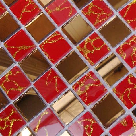 wholesale mosaic tile crystal glass backsplash dining room