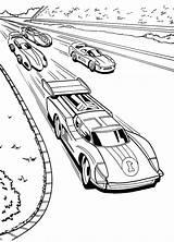 Coloring Race Racing Wheels Cars Fast Forward sketch template