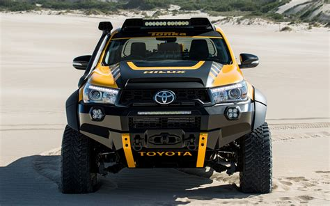 toyota hilux tonka concept wallpapers  hd images