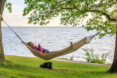 Relaxing On Hammock by File Relaxing In The Hammock By The Sea Near Almedalen Jpg