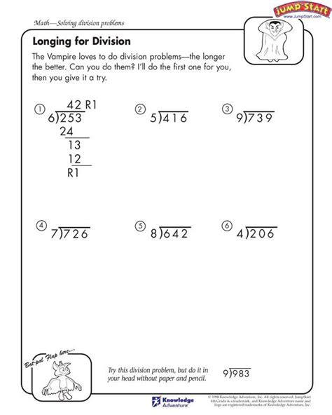 4th grade if there s somebody who loves to solve long