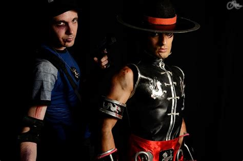 Mk Blood To Je2012 Kung Lao And Stryker Cosplay By