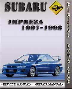 1997 Subaru Liberty Service Manual