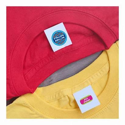 Labels Clothing Camp Nursing Label Tag Iron