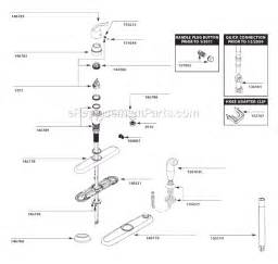 moen kitchen sink faucet parts moen 7425 parts list and diagram after 10 10 ereplacementparts