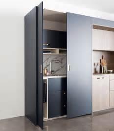 cuisine ouverte avec ilot central bois  marbre