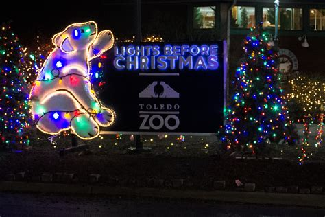 the lights before at the toledo zoo 2015
