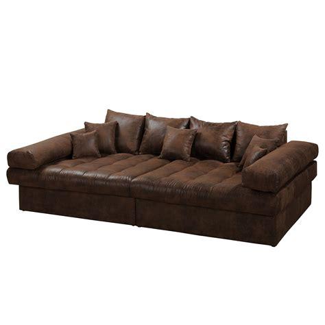 canape cuir vieilli vintage grand canapé iv aspect cuir vieilli vintage