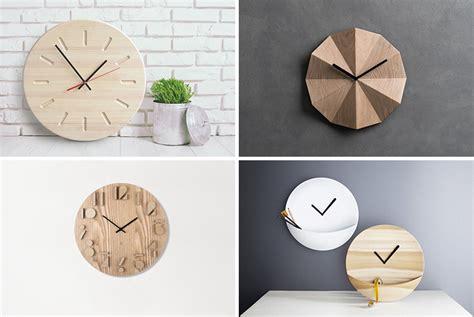 14 Modern Wood Wall Clocks To Spruce Up Any Decor