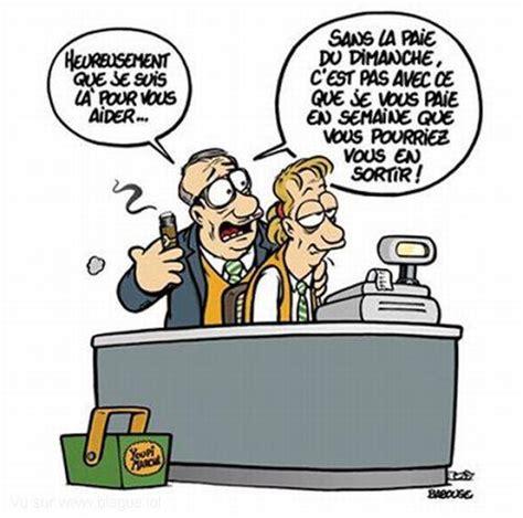 dessin humoristique travail bureau blague en image sur le travail