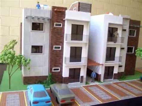 hotel casa cer maqueta edificio de apartamentos villas almoreto