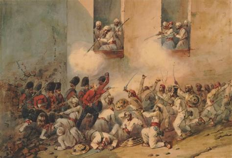 siege in the siege of lucknow during the sepoy mutiny 1857