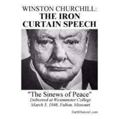 Churchill Iron Curtain Speech Points by Cold War Timeline Timetoast Timelines