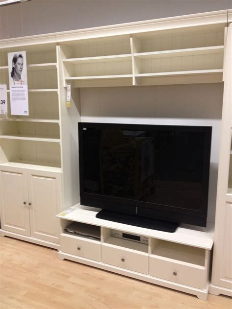 ikea billy tv unit ikea tv stand and built in wall unit living room pinterest ikea tv tvs and caves