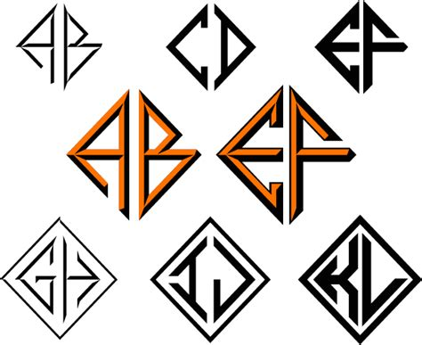 diamondside monogram font family  monogram fonts  font bros