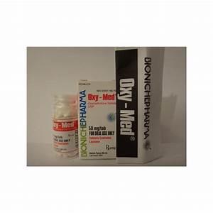 Oxy-med Bioniche Pharma  Oxymethlone Anadrol  120tabs  50mg  Tab