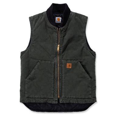 carhartt sandstone vest arctic quilt lined