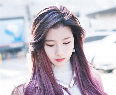 pics  gt kpop hair color brown  kpop girls hair color