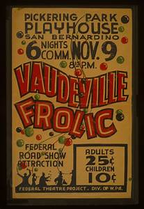 the gallery for gt vintage vaudeville poster With vaudeville poster template
