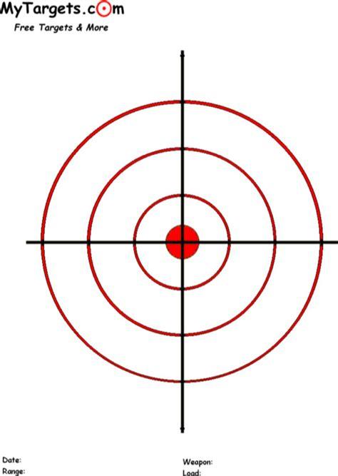 printable targets   formtemplate